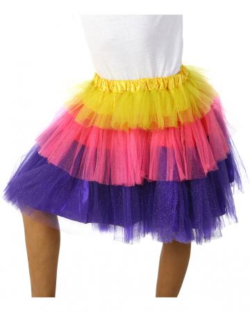 Tulle Carnival Kids Skirt Colorful