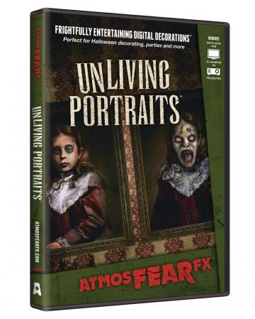 Zombie Portraits TV Halloween Effekt DVD