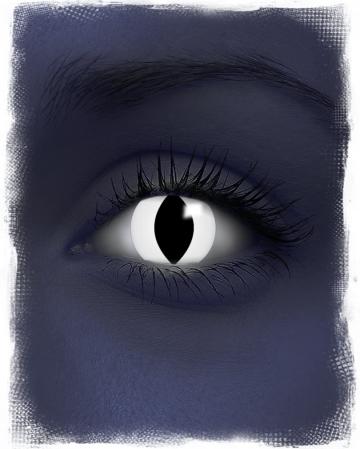 UV Black Cat Contact Lenses