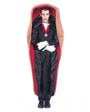 Dracula im Sarg Kostüm