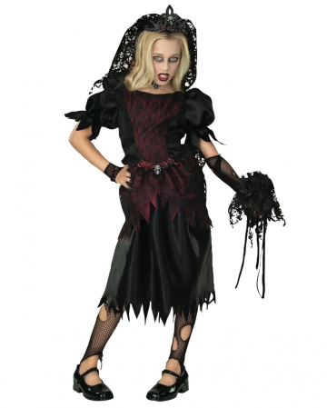 Vampirbraut Kinder Kostüm