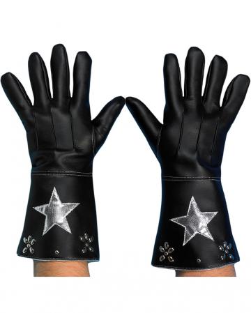 Cowboy Gloves black-silver