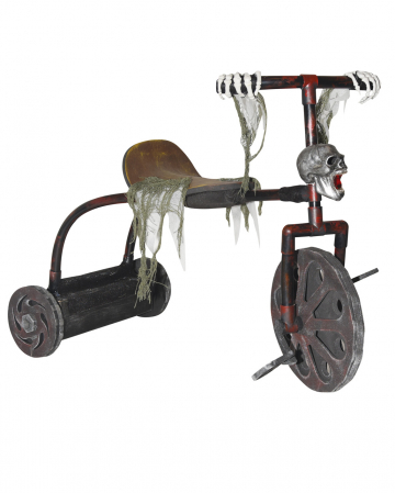 Bewitched Driving Tricycle Animatronic