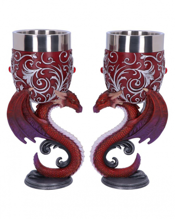 Dragons In Love Goblets 2 Pcs.