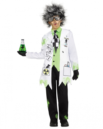Crazy professor kids costume