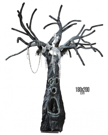 Enchanted Halloween Tree 180 X 200 Cm