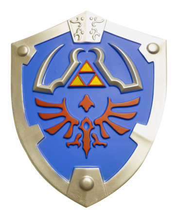 Video Game Held Cosplay Shield 44x55 Cm