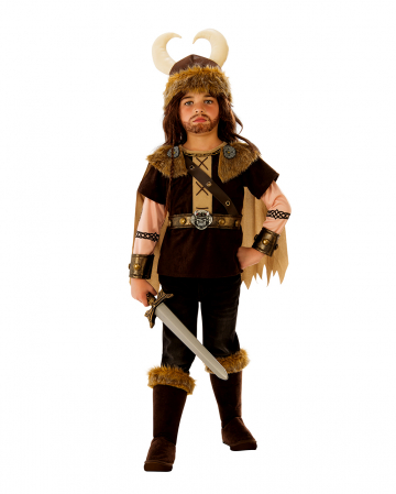 Viking Warrior King Costume For Children
