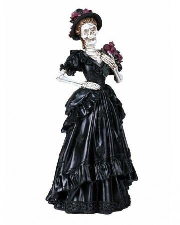 Gothic Bride Skeleton Figure 33cm