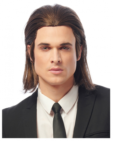 Vinnie Longhair Men's Wig