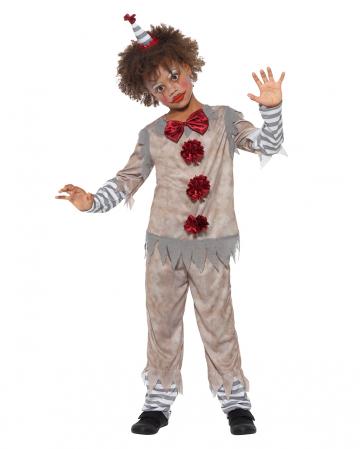 Vintage Killer Clown Jungen Kostüm