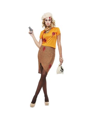 30`s Bonnie Gangster Lady Kostüm