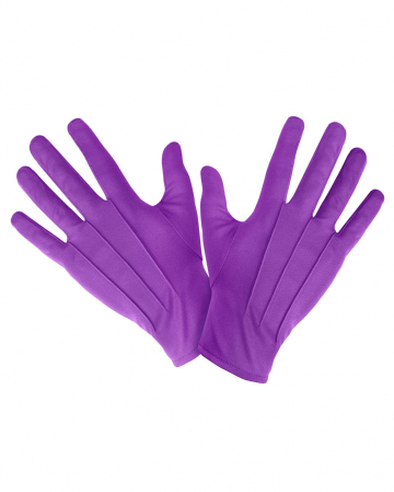 Violet Costume Gloves