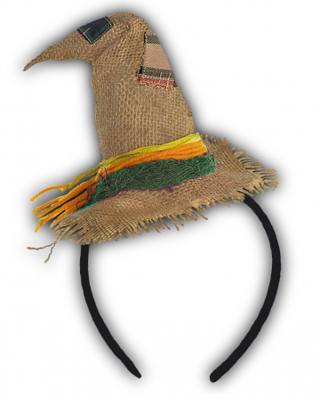 Scarecrow Mini-Hat Hairband