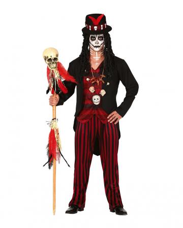 Voodoo Hexenkönig Herren Kostüm