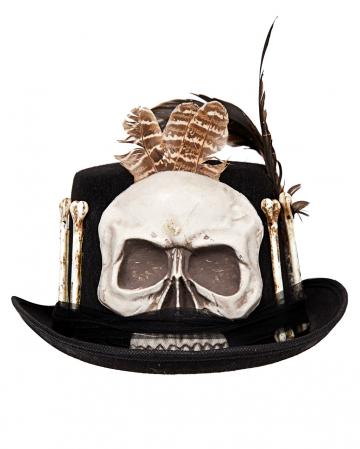 Voodoo Hut mit Totenschädel