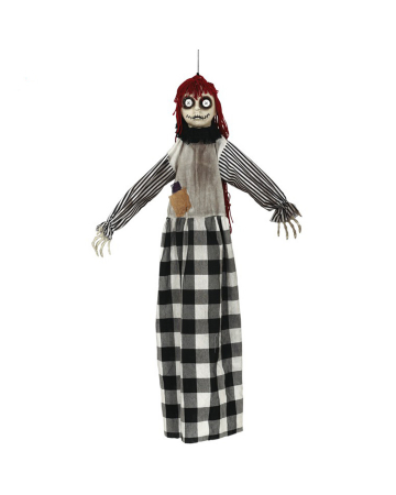 Creepy Voodoo Doll Hanging Figure
