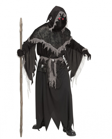 Warlock Costume With Luminous Eyes