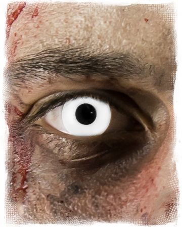 White Zombie 1-day Contact Lenses