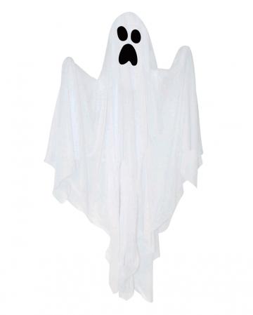 Weißes Gespenst Halloween Hängefigur 80cm
