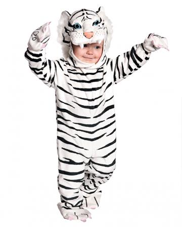 Weißer Tiger Kleinkinderkostüm