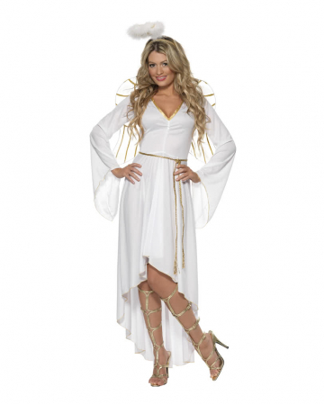 Weißer Engel Weihnachtskostüm