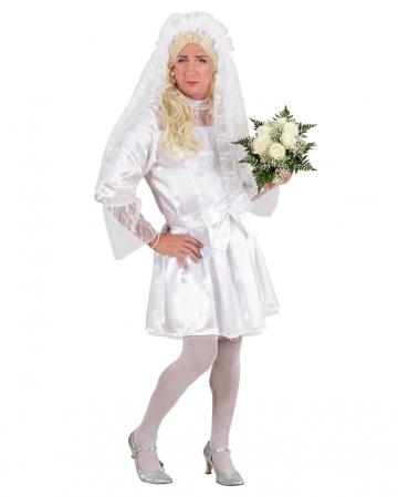Drag Queen Braut Männerkostüm