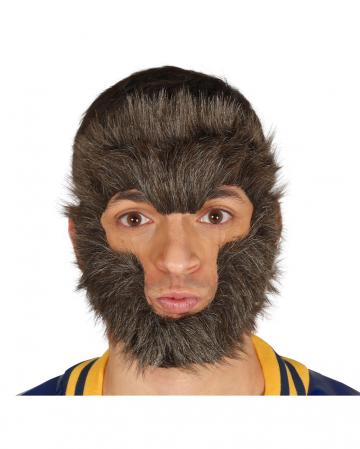 Fellmaske für Werwolf Verkleidungen