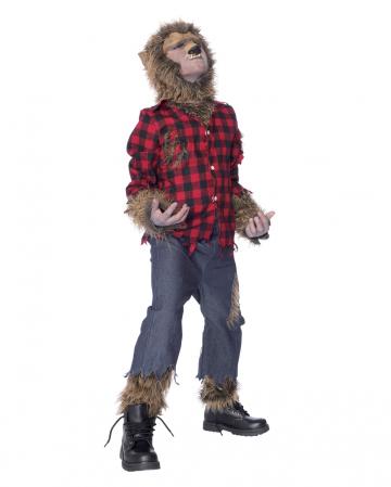 Kinder Kostüm Werwolf mit Maske