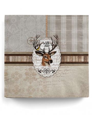 Wild Deer Deer Napkins 20pcs.