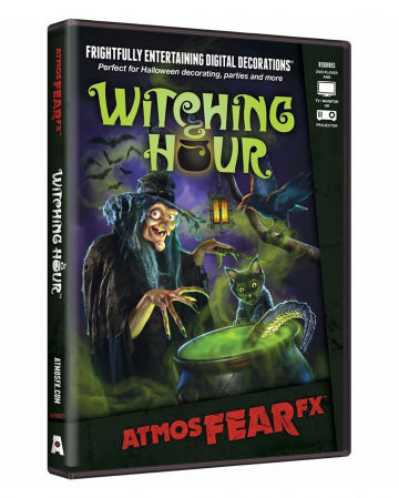 Witch Hour TV Halloween Effect DVD