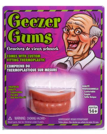 Scherzgebiss ohne Zähne
