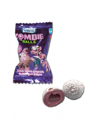 Zombie Balls Chewing Gum 200 Pcs.