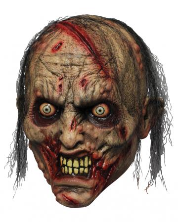 Zombie Beißer Latex Maske