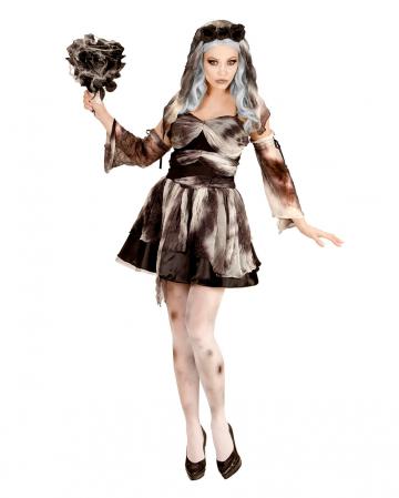 Totenbraut Kostüm mit Schleier