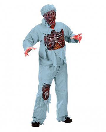 Zombie Doktor 3D Deluxe Kostüm
