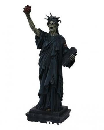 Zombie Liberty Freiheitsstatue 28cm