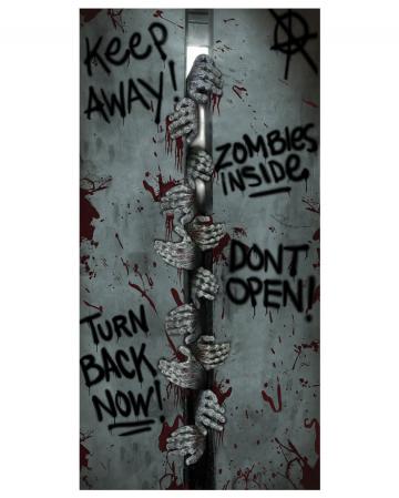 Zombie door sheet