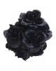 Schwarzer Rosenstrauß mit 12 Blüten