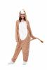 Flauschiger Giraffen Onesie für Erwachsene