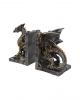 Dracus Machina Steampunk Bookends