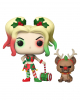 Holiday Harley Quinn with Helper - Funko Pop Heroes