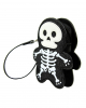 Glitter Skeleton Clutch Vinyl