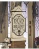 Gothic Dead & Breakfast Schild 43 x 30cm