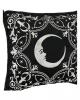 Halbmond mit Ornamenten Kissenbezug 45x45cm