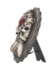 Gothic Skelett Dame Day of the Dead Wand- & Standbild
