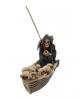 Grim Reaper Ferryman Incense Holder