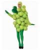 Grünes Weintrauben Kostüm mit Luftballons