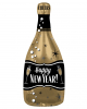 Happy New Year Champagne Foil Balloon