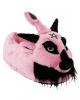 KILLSTAR Dark Lord Plush Slippers Pink